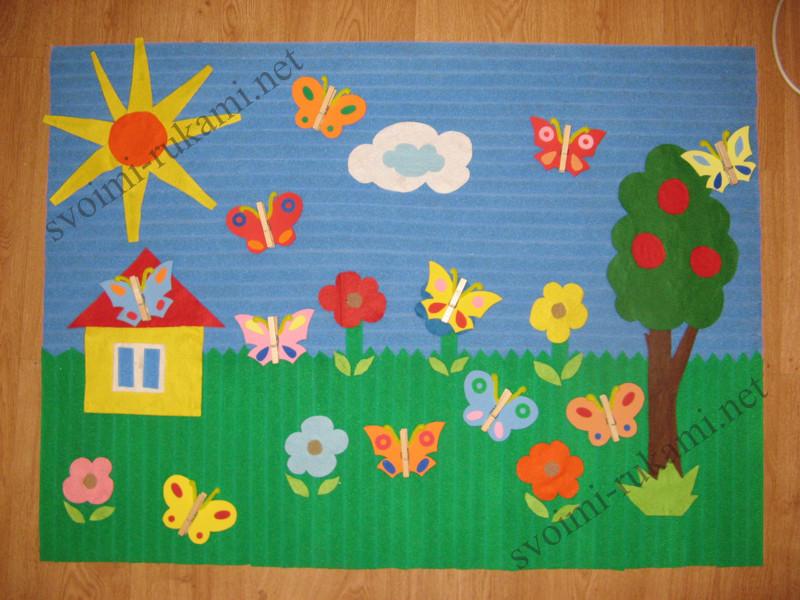 Аппликация в детском саду фото поделок
