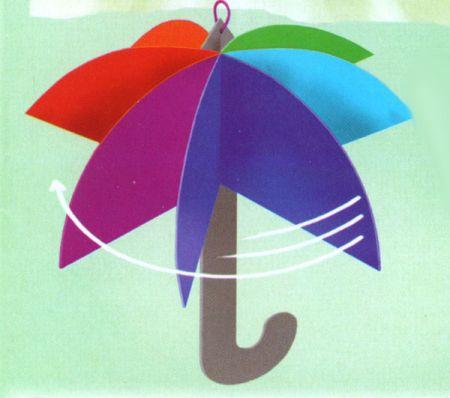 Зонтик своими руками поделки