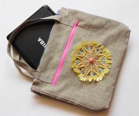 Как сделать сумку-чехол для ноутбука.